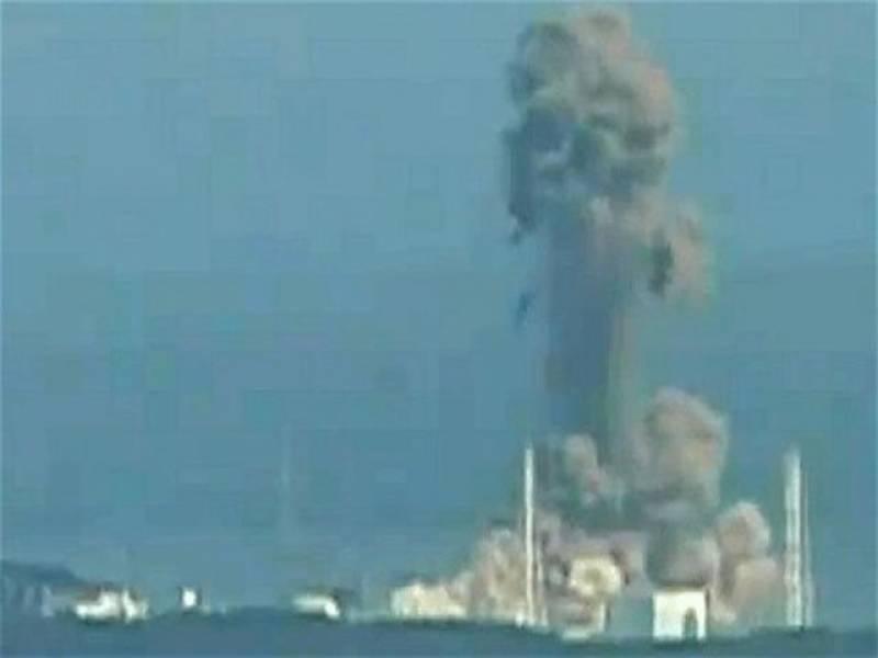 جاپان میں زلزلے اورسونامی کے بعد آفٹر شاکس کا سلسلہ جاری ہے، ادھر فوکو شیما کے ایٹمی پلانٹ میں زور دار دھماکہ ہوا ہے