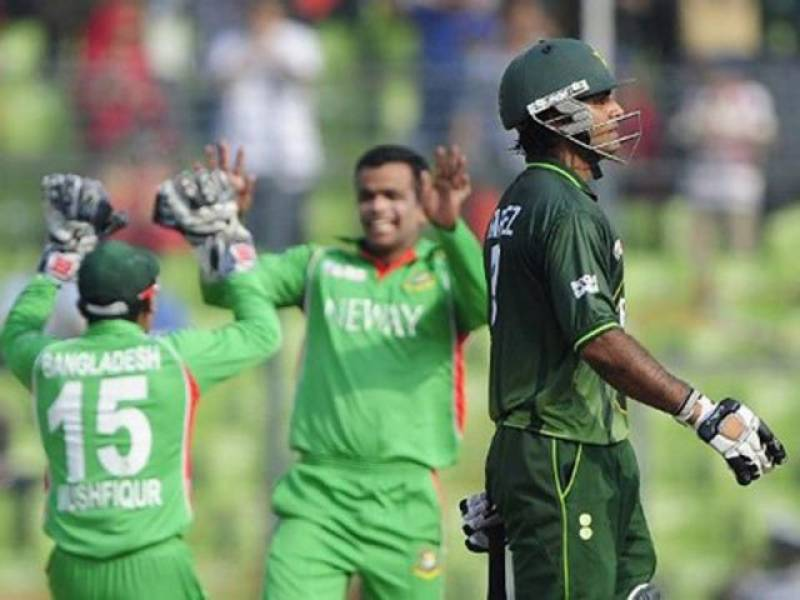 ایشیا کپ کے فائنل میں مصباح الیون کے اہم مہرے جلد کھسکنے کے باعث قومی ٹیم نے بنگلہ دیش کو جیت کیلئے دوسو سینتیس رنز کا ہدف دے دیا۔