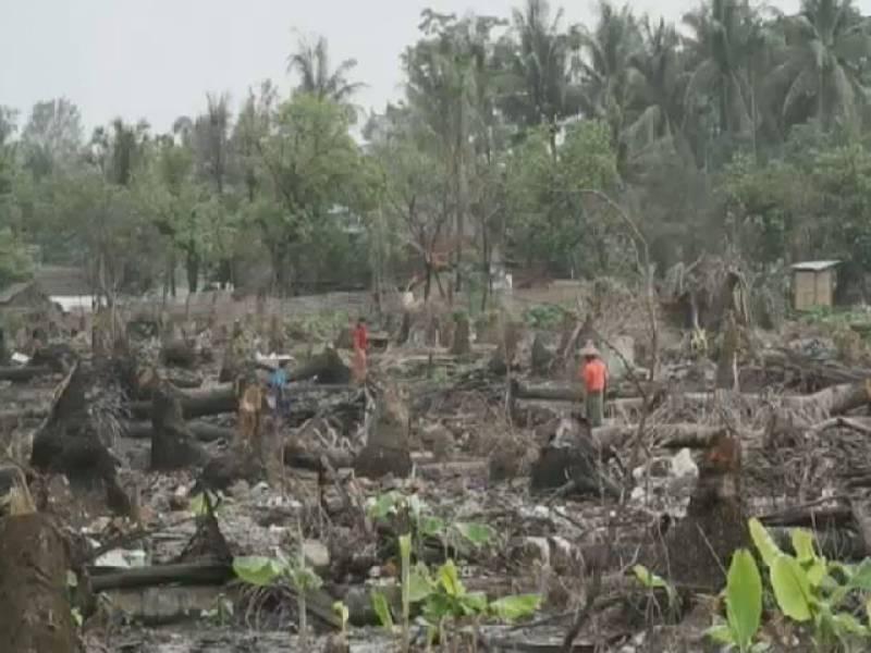 برما میں ہونے والے حالیہ فسادات کے دوران مسلم آبادی کے قریباً دس ہزارمکانات تباہ کردیے گئے ہیں۔ رپورٹ