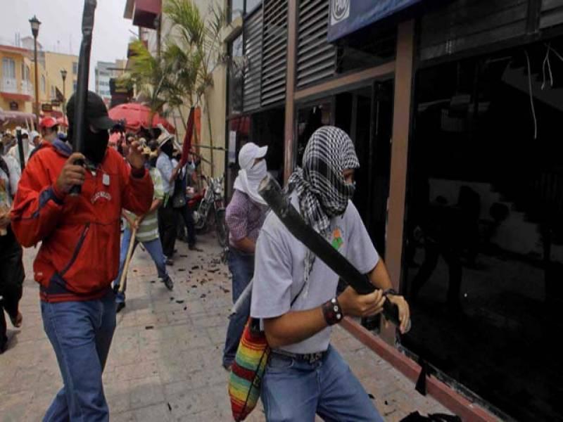 میکسیکوکی ریاست اپیٹزنگن میں حملہ آوروں اورپولیس میں جھڑپ، فائرنگ سے دو پولیس اہلکاروں سمیت7افراد ہلاک اور3 اہلکار زخمی