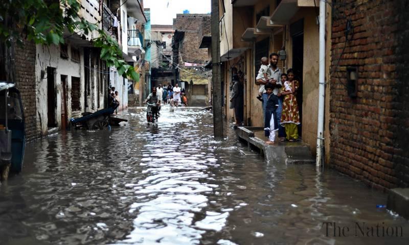 موسلادھار بارش نے جڑواں شہروں میں تباہی مچا دی