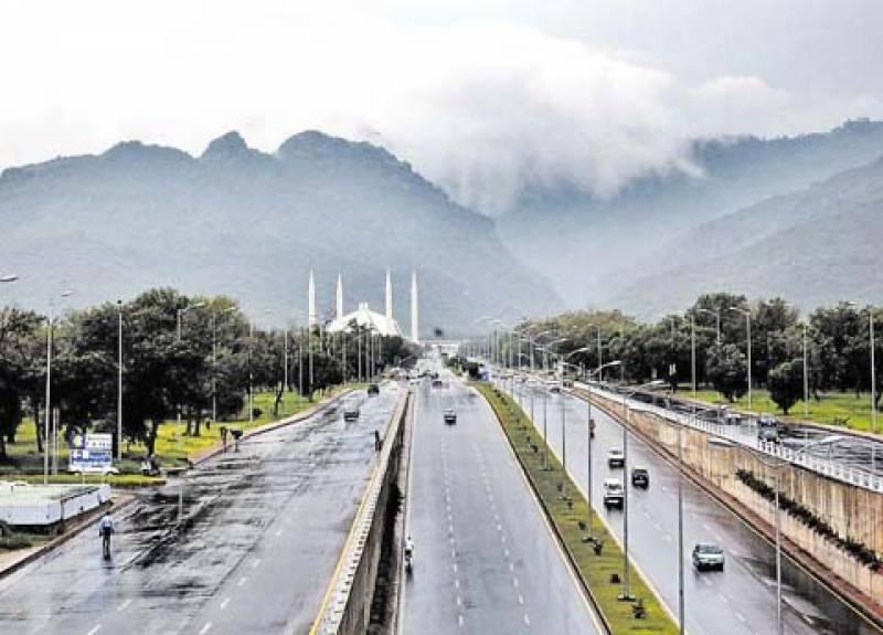آج رات اور کل بالائی کےپی، بالائی پنجاب، اسلام آباد، فاٹا، گلگت بلتستان اور کشمیر میں تیز ہواؤں کے ساتھ بارش کا امکان ہے،