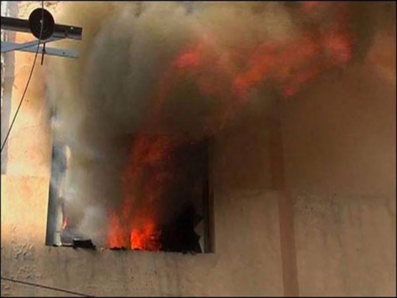لاہو ر : پنجاب بیت المال کے دفتر میں لگی آگ بجھادی گئی، ریکارڈ خاکستر