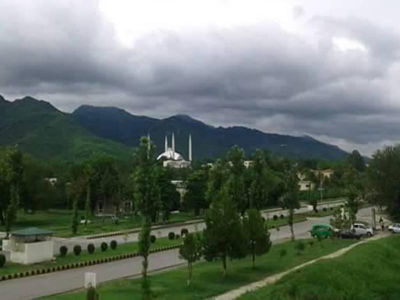 آئندہ چوبیس گھنٹوں میں ملک کے بیشتر علاقوں میں بارش کا امکان,اسلام آباد میں موسم خوشگوار