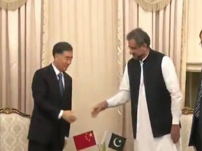 چینی نائب وزیراعظم جشن آزادی کی تقریبات میں شرکت کیلئے اسلام آباد پہنچ گئے