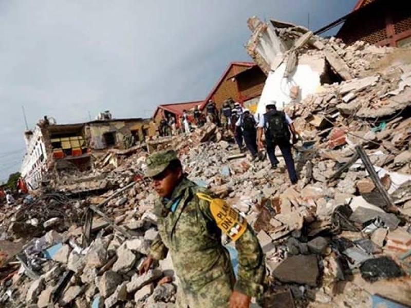 میکسیکو میں شدید زلزلے سے ہلاکتو ں کی تعداد 61 ہوگئی ، سینکڑوں زخمی