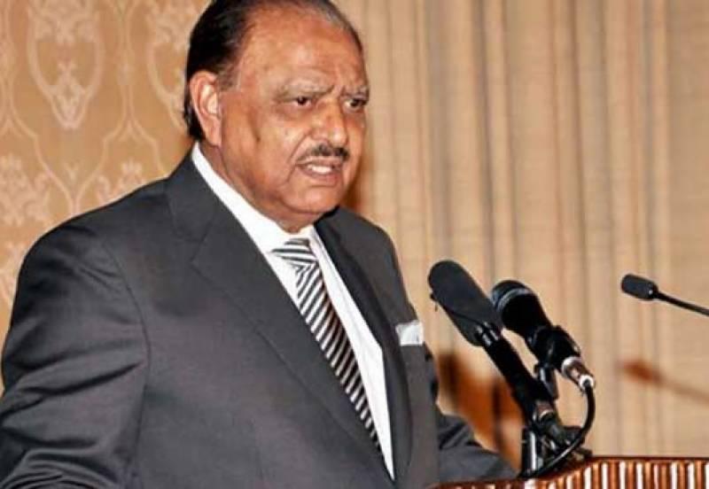 پاکستان میں بینک آف چائنا کے آپریشن کا افتتاح ایک تاریخی قدم ہے: صدر مملکت ممنون حسین