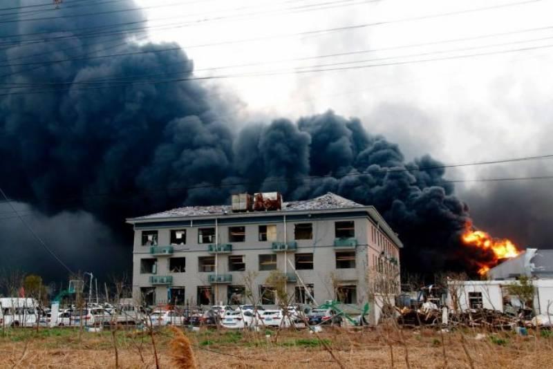 چین:کیمیکل پلانٹ میں دھماکا، ہلاکتوں کی تعداد 64ہوگئی