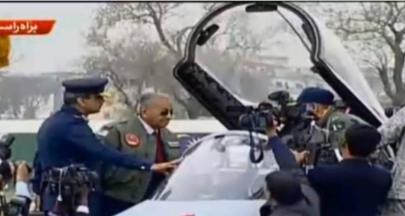 ملائیشیا کے وزیراعظم مہاتیر محمد اپنادورہ پاکستان مکمل کر واپس روانہ
