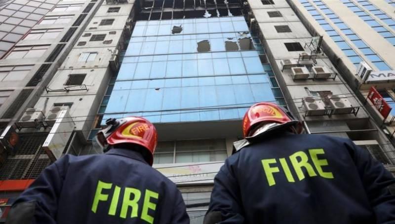 بنگلہ دیش کی رہائشی عمارت میں آتشزدگی سے 19 افراد ہلاک،70زخمی