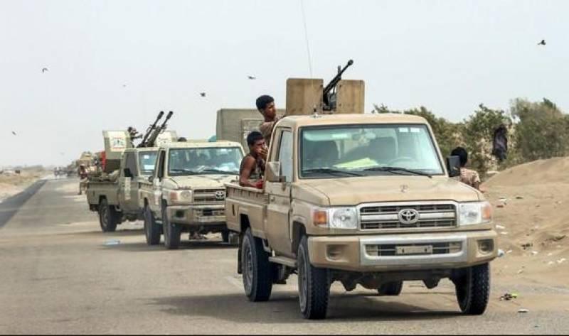 یمنی حوثی ملیشیا کا اسلحہ سرکاری فوج کے قبضے میں