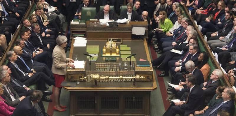 برطانوی پارلیمنٹ میں نوڈیل بریگزٹ کو مسترد کرنے کا بل منظور