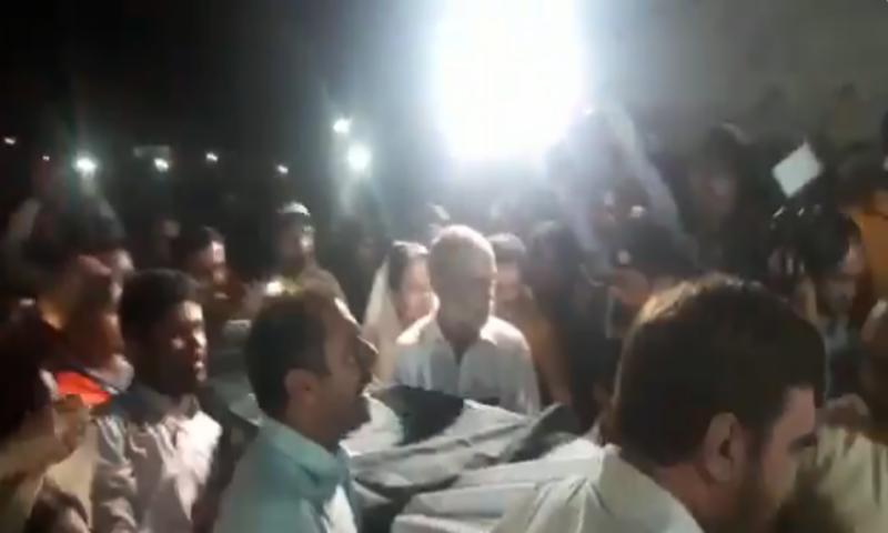 بھارتی جیل میں قتل ہونے والے ماہی گیرنوالامین کی میت کراچی پہنچ گئی