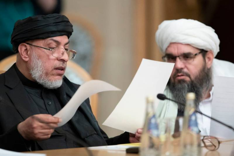 افغان طالبان اور امریکہ کے درمیان امن سمجھوتہ ،مذاکرات مثبت سمت میں آگے بڑھ رہے ہیں