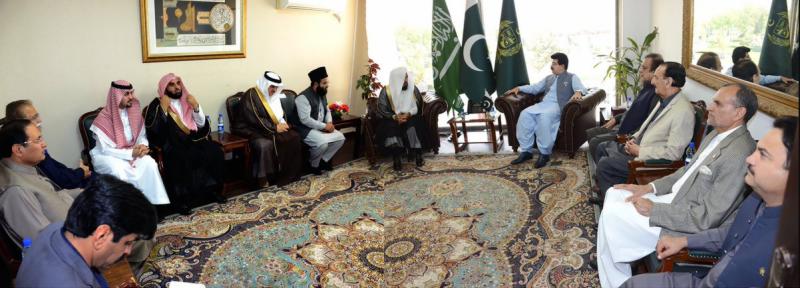 پاکستان اور سعودی عرب کا دکھ درداور منزل ایک ہے: امام کعبہ