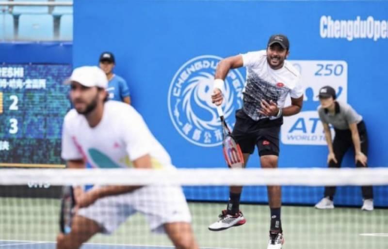 ٹینس اسٹاراعصام الحق نے امریکا میں کلے کورٹ ٹینس چیمپئن شپ جیت لی