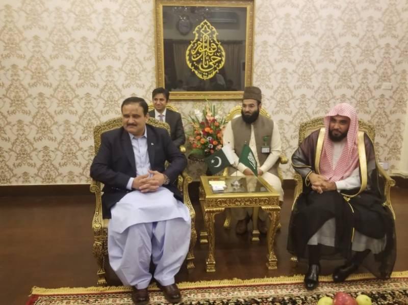 سعودی عرب کی حکومت اور عوام کے دل پاکستان کیلئے ہمیشہ کھلے رہتے ہیں:امام کعبہ