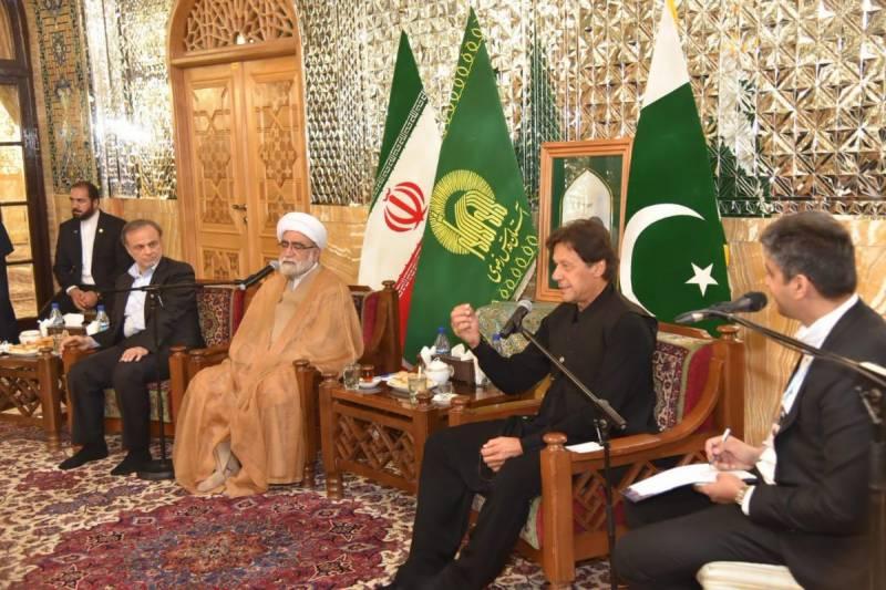 وزیر اعظم عمران خان کا دورہ مشہد