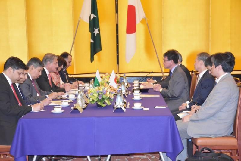 पाकिस्तान,जापान का मुख़्तलिफ़ शोबों में दो तरफ़ा तआवुन को फ़रोग़ देने पर इत्तिफ़ाक़
