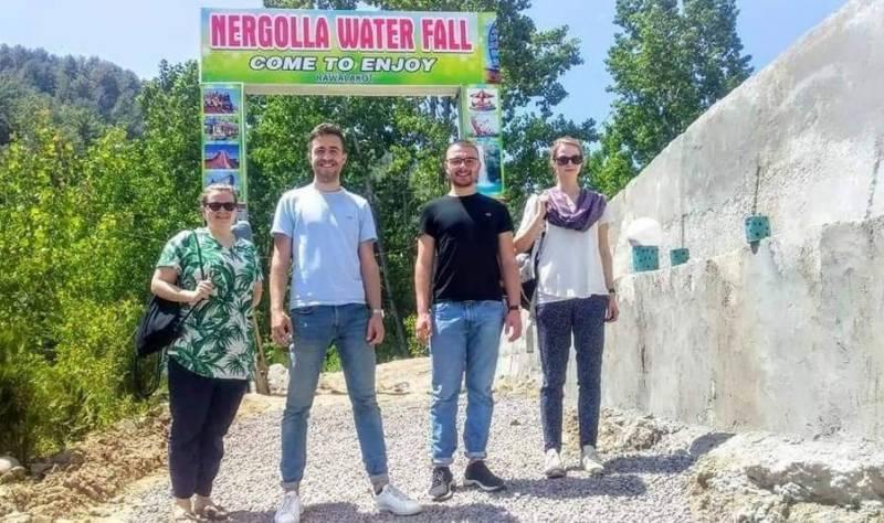 این او سی کی پابندی ختم:راولاکوٹ پونچھ میں پہلی بار بین الاقوامی سیاحوں کی آمد
