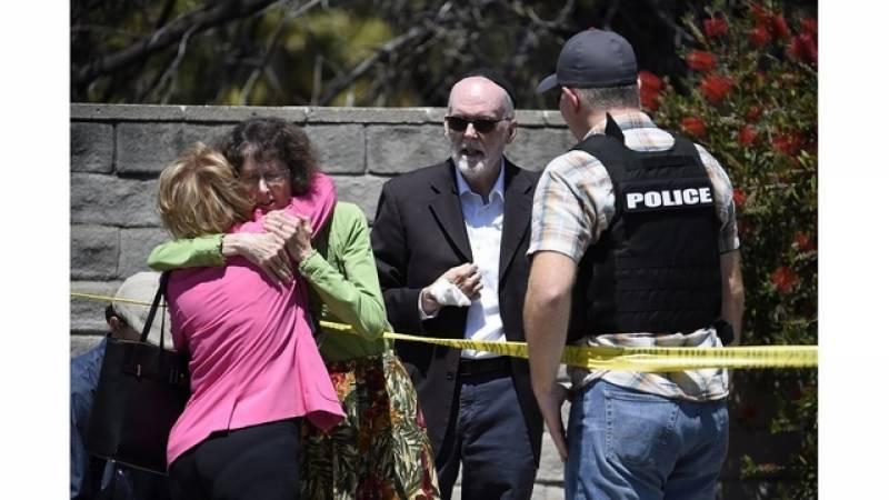 کیلی فورنیا: یہودیوں کی عبادت گاہ پر فائرنگ،1 شخص ہلاک