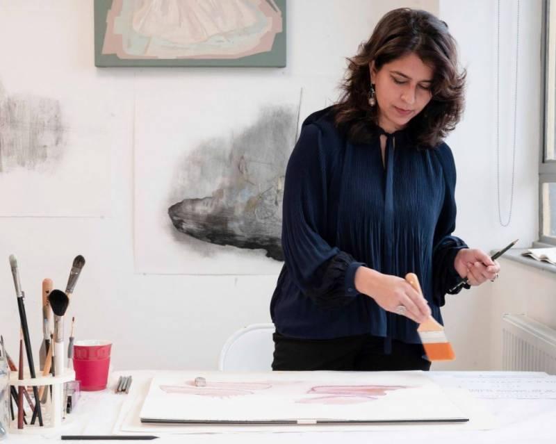 پاکستانی مصورہ کی وینس آرٹ میلے میں پہلی بار شرکت