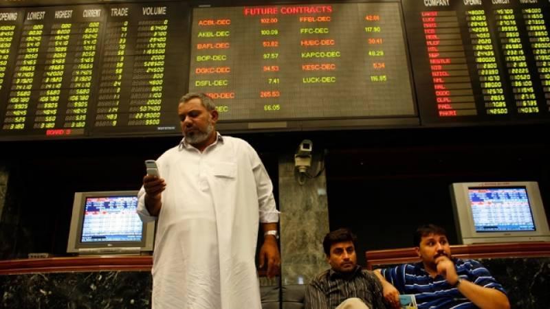 پاکستان اسٹاک ایکسچینج میں شدید مندی کا رجحان، 100انڈکس میں 870پوائنٹس کی کمی