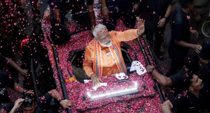 بھارتی انتخابات کے ووٹوں کی گنتی جاری، مودی کی جیت کا امکان
