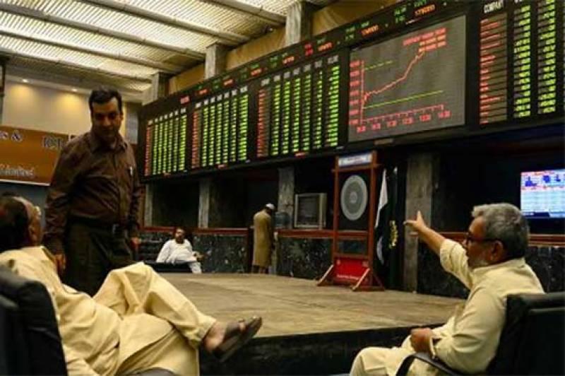 اسٹاک مارکیٹ میں زبردست تیزی، 100 انڈیکس میں 850 پوائنٹس کا اضافہ