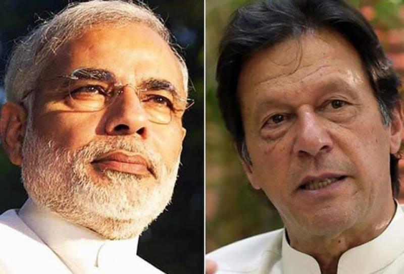 وزیراعظم عمران خان کی الیکشن میں کامیابی پرنریندرمودی کومبارکباد