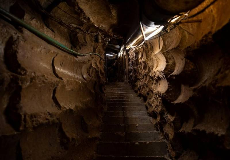 لبنان اور اسرائیلی سرحد پر 22 منزلہ زیر زمین سرنگ کا انکشاف