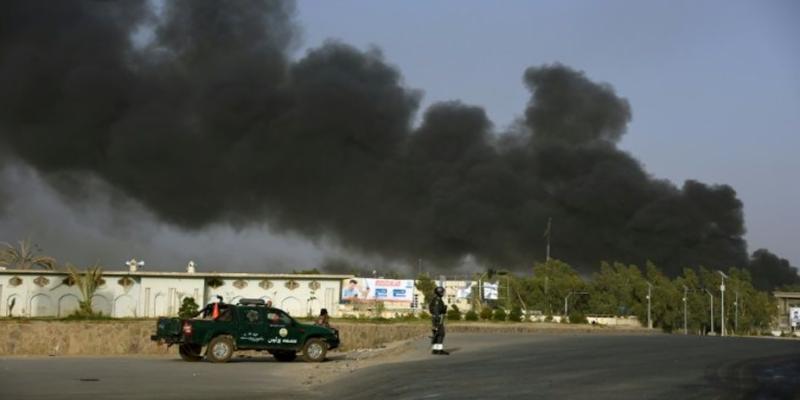 افغانستان : پولیس ہیڈکوارٹرپرطالبان کے حملے میں 11 افراد ہلاک