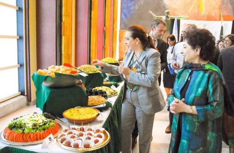 اقوام متحدہ میں پاکستانی کھانوں اور ثقافت کی عکاسی