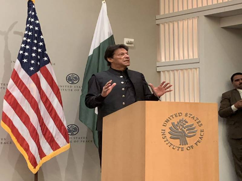 امریکا سے امداد نہیں تعاون مانگا ہے،واپس پہنچ کر افغان طالبان سے ملاقات کروں گا،پاکستان میں سیاسی جماعتوں سے نہیں مافیا سے نبرد آزما ہوں: وزیراعظم عمران خان