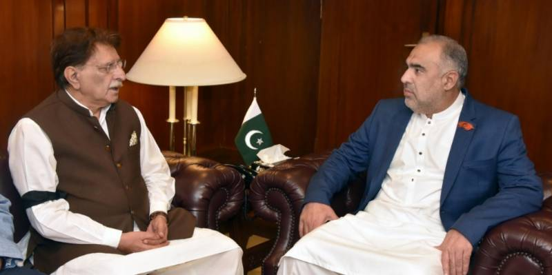 اسپیکر قومی اسمبلی سے آزاد جموں و کشمیر کے صدر اور وزیر اعظم کی علیحدہ علیحدہ ملاقاتیں