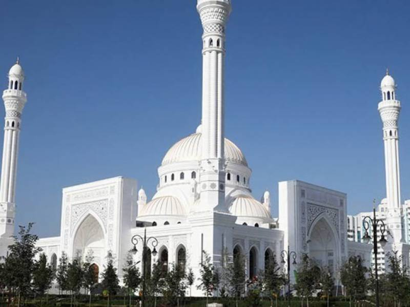 چیچنیا میں یورپ کی سب سے بڑی مسجد کا افتتاح