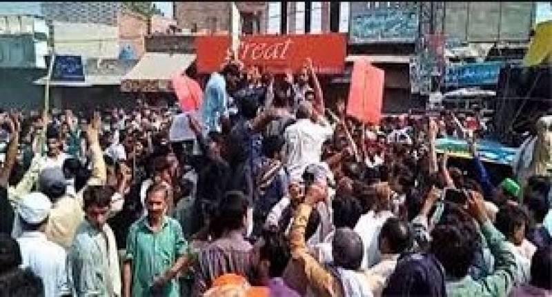 چونیاں:3 بچوں کا اغوا کے بعد قتل،مشتعل شہریوں کا احتجاج،تھانے پر حملہ