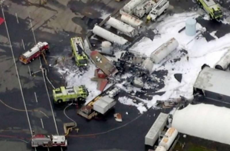 امریکہ:دوسری عالمی جنگ کے دور کا قدیم طیارہ حادثے میں تباہ,7 افراد ہلاک