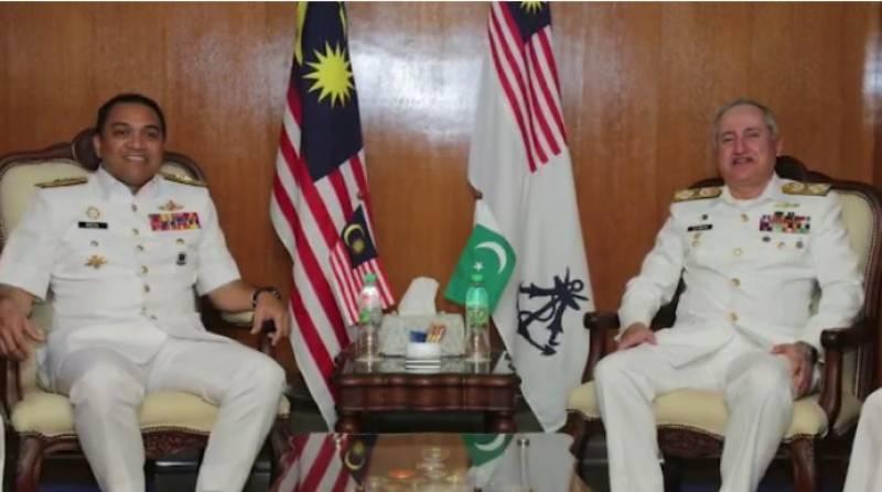 پاک بحریہ کے سربراہ ایڈمرل ظفر محمود عباسی کا ملائیشیا کا دورہ:ترجمان پاک بحریہ