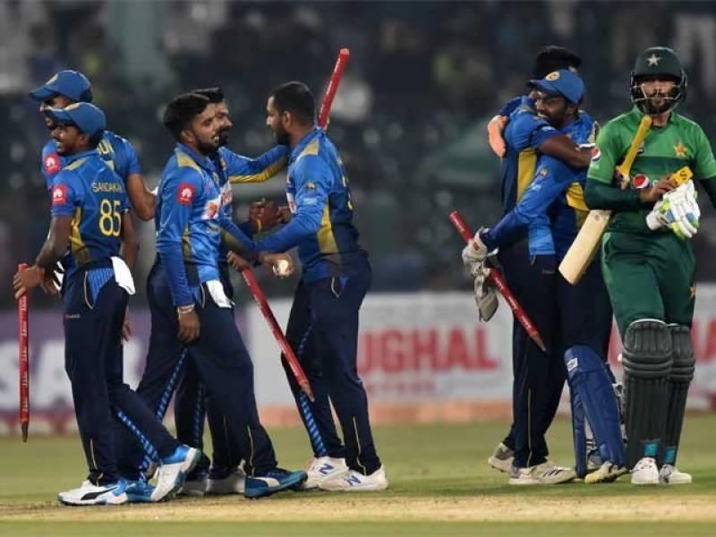 سری لنکا نے پاکستان کیخلاف ٹی ٹوئنٹی سیریز جیت لی