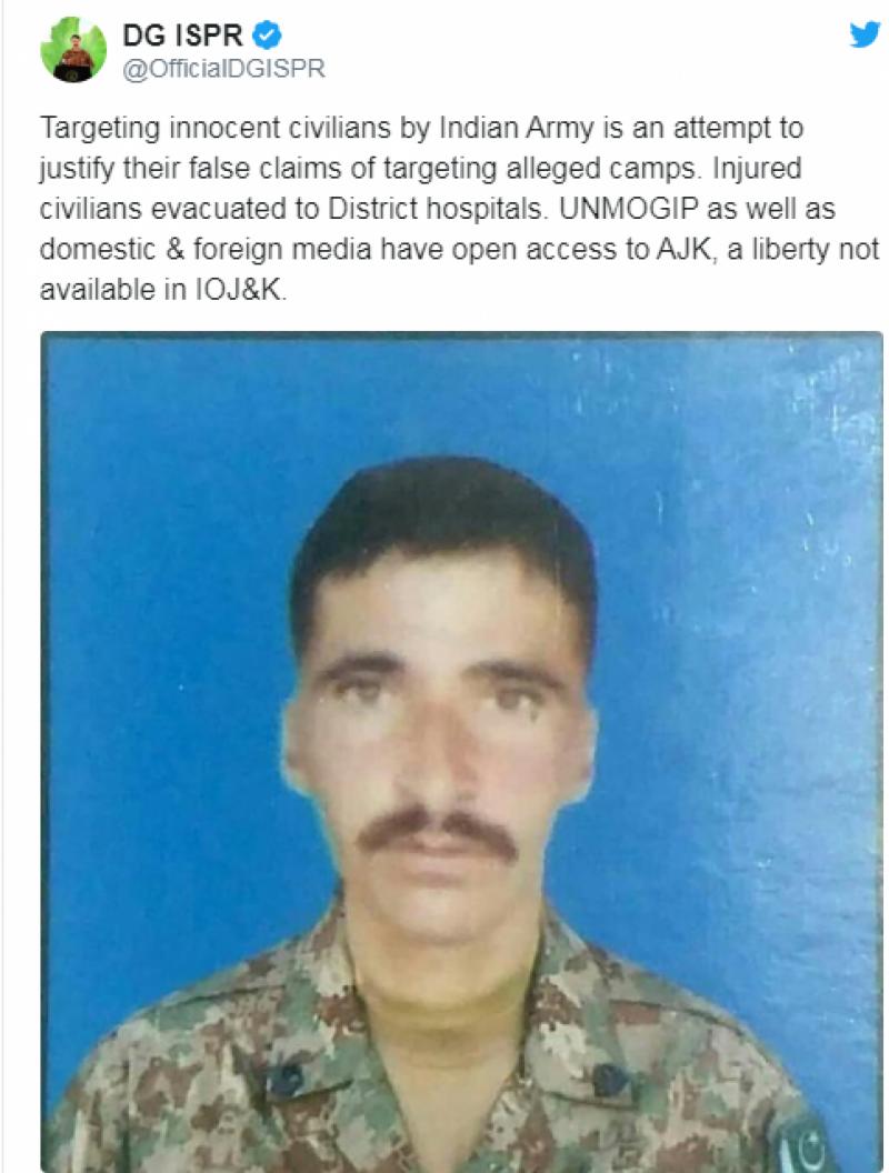 بھارت کی کنٹرول لائن پر فائرنگ، جوابی کارروائی ، 9 انڈین فوجی ہلاک، انڈین فوجیوں میں خوف،سفید جھنڈا لہرادیا