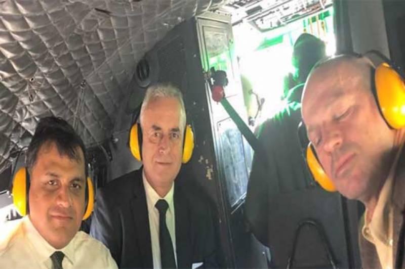 غیر ملکی سفیروں کا وفد ایل او سی پہنچ گیا، بھارتی ہائی کمیشن سے کوئی نہ پہنچا