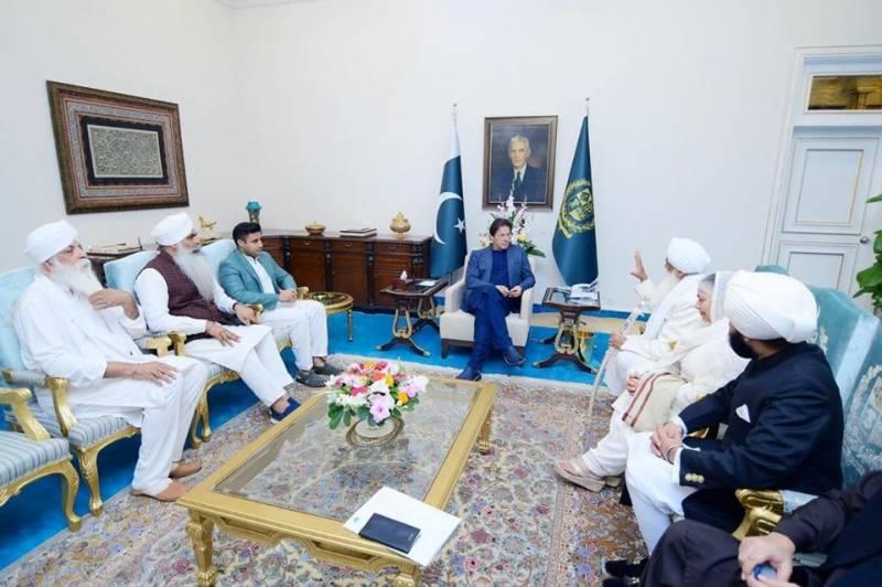 وزیراعظم کیساتھ ملاقات، سکھ رہنما کی 50 کروڑ پاؤنڈز سرمایہ کاری کی یقین دہانی