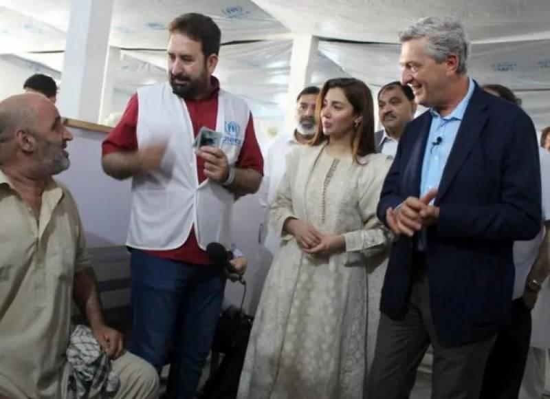 ماہرہ خان یو این ہائی کمیشن برائے مہاجرین کی خیرسگالی سفیر مقرر