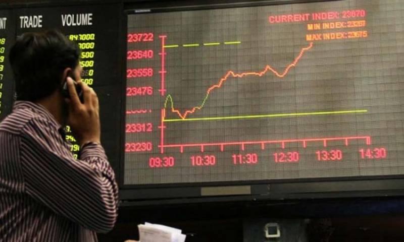 اسٹاک مارکیٹ میں مثبت رجحان، 100 انڈیکس میں 316 پوائنٹس کا اضافہ