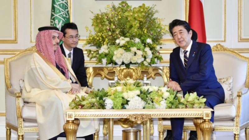 سعودی وزیر خاجہ سے جاپانی وزیراعظم کی ملاقات، مشرق وسطیٰ میں کشیدگی پر تبادلہ خیال