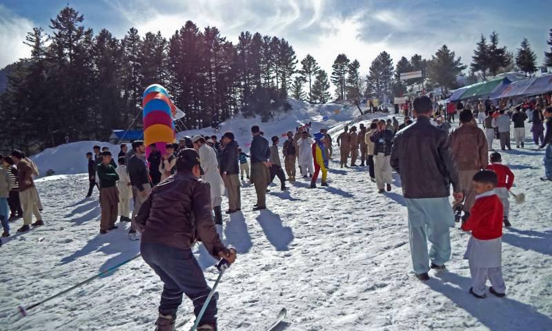 کے پی کے میں سیاحت کا فروغ : سیاحوں کی بڑی تعداد میں آمد