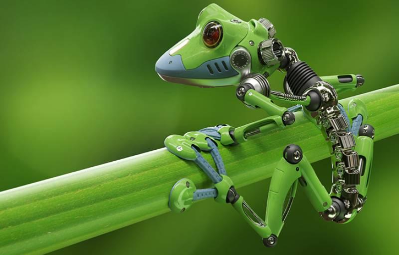 پہلی بار سائنسدان کیڑے کے سائز کا خود بنتا، ٹوٹتا روبوٹ تیار کرنے میں کامیاب