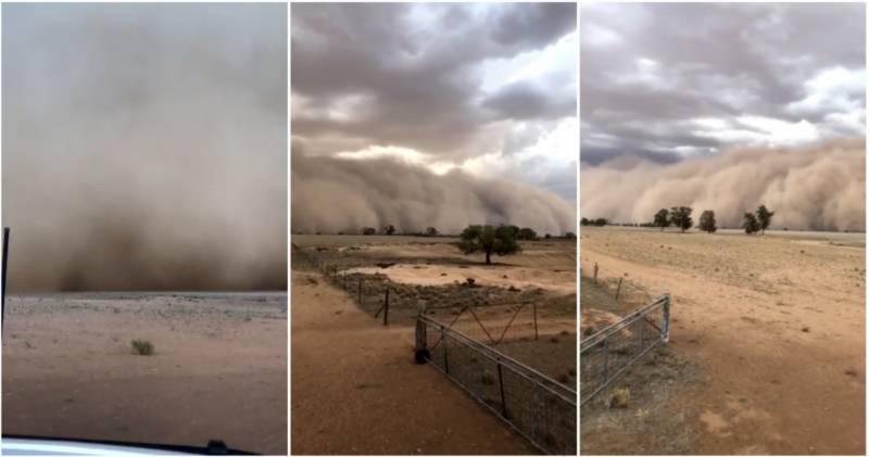 آسٹریلیا ، آتشزدگی سے متاثرہ علاقوں میں اپلوکلیپٹیک طوفان ، دن میں اندھیرا چھا گیا