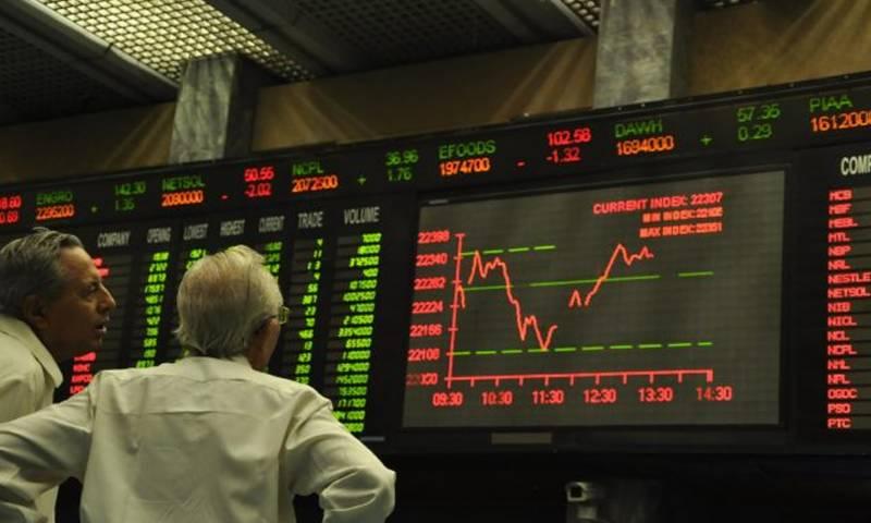 اسٹاک مارکیٹ میں مندی کا رجحان، 100 انڈیکس میں 149 پوائنٹس کی کمی